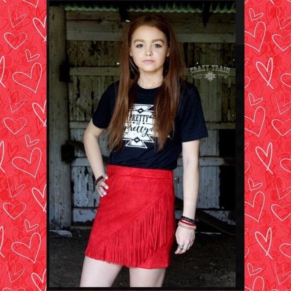 HIGH COUNTRY SKIRT BY CRAZY TRAIN